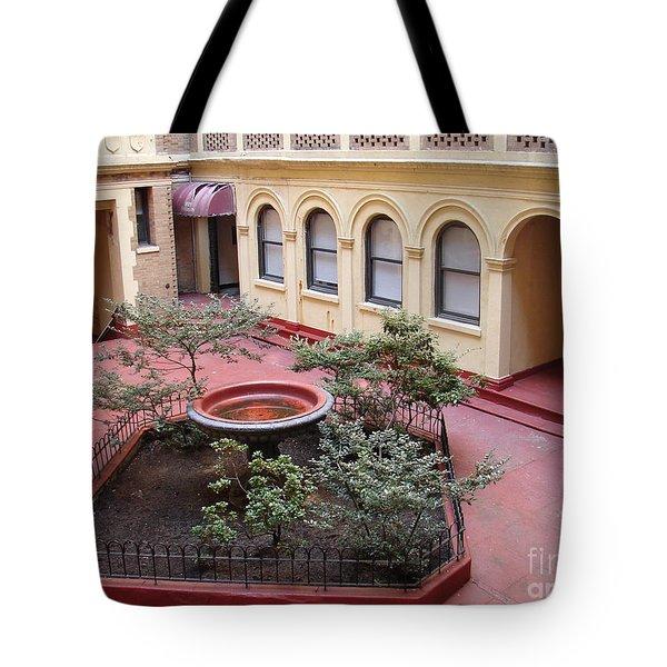Isham Gardens Tote Bag