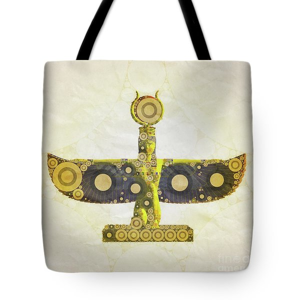 Isis, Mother Goddess Of Egypt By Mary Bassett Tote Bag