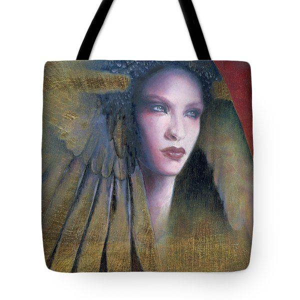 Tote Bag featuring the painting Isis by Ragen Mendenhall