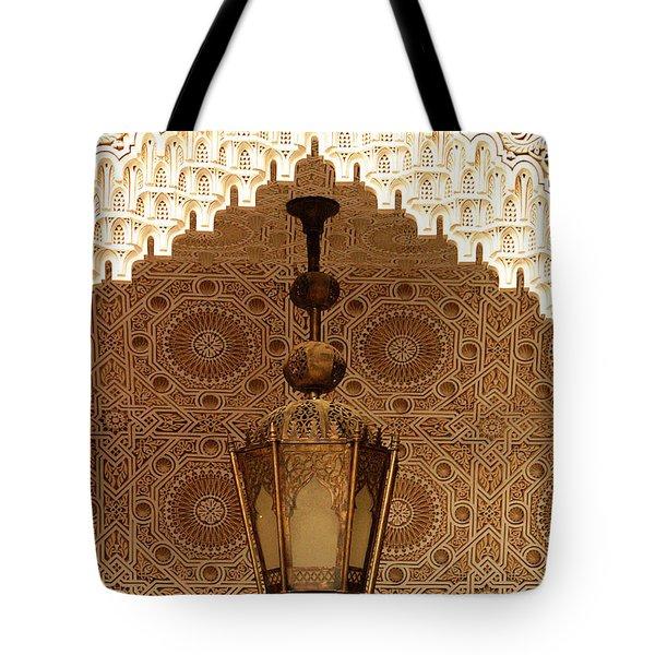 Islamic Plasterwork Tote Bag