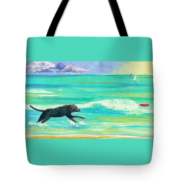 Islamorada Dog Tote Bag