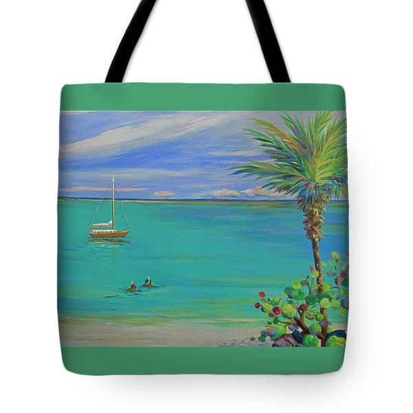 Islamorada Snorkeling Tote Bag