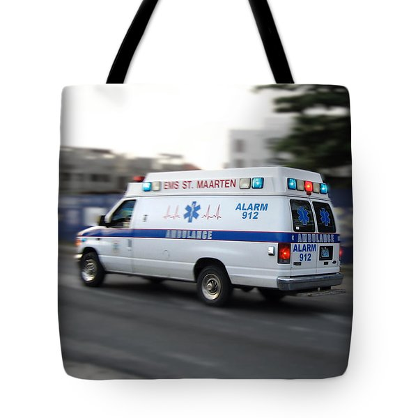 Island Ambulance Tote Bag