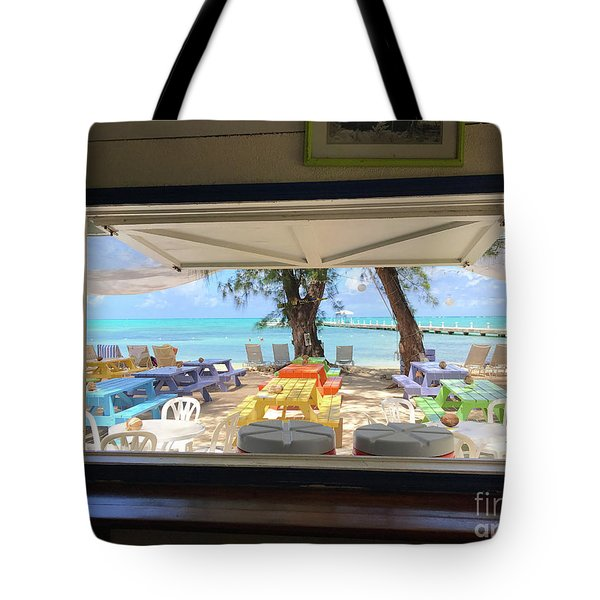 Island Bar View Tote Bag