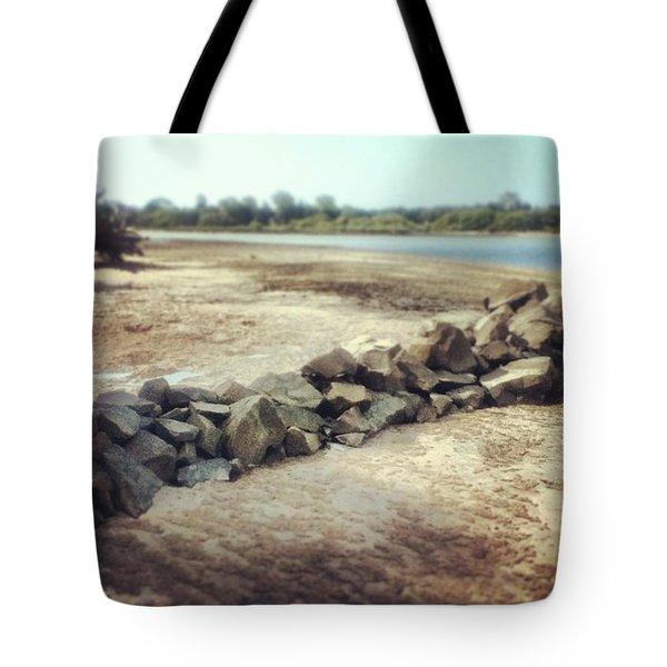 #island #beach #beautiful #sunny Tote Bag