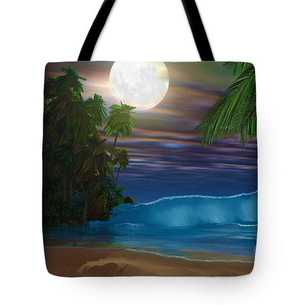 Island Beach Tote Bag by Corey Ford