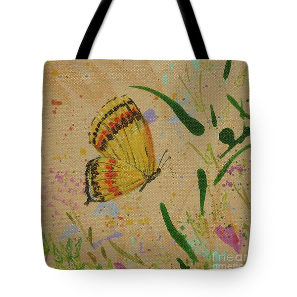 Island Butterfly Series 1 Of 6 Tote Bag
