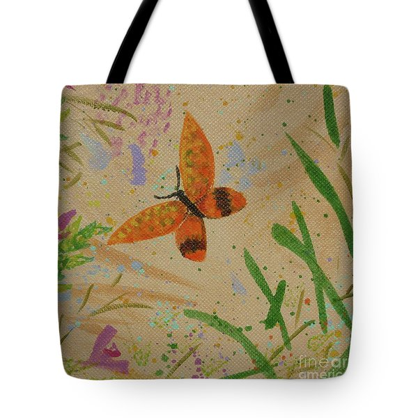 Island Butterfly Series 3 Of 6 Tote Bag