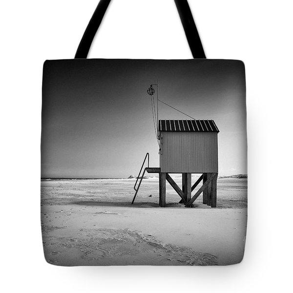 Island Cabin Tote Bag