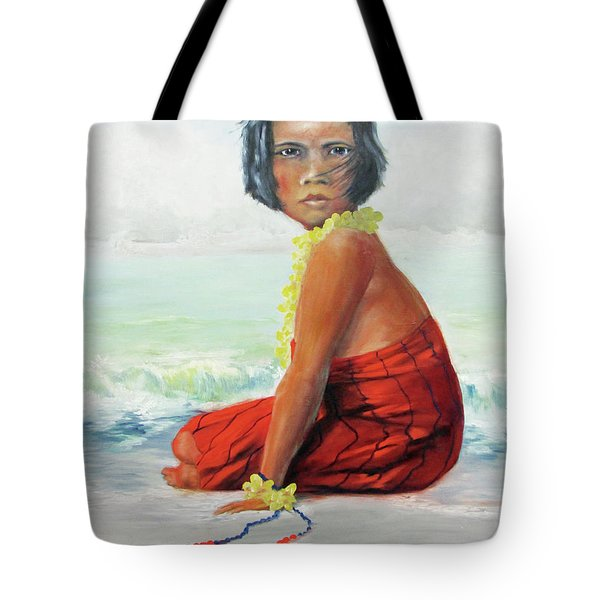 Island Child Tote Bag