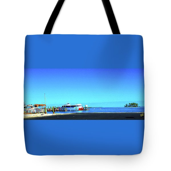 Island Dock Tote Bag