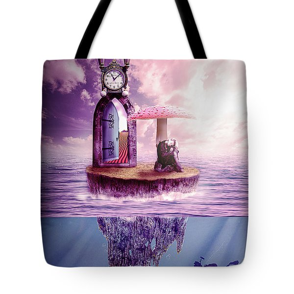 Island Dreaming Tote Bag by Nathan Wright