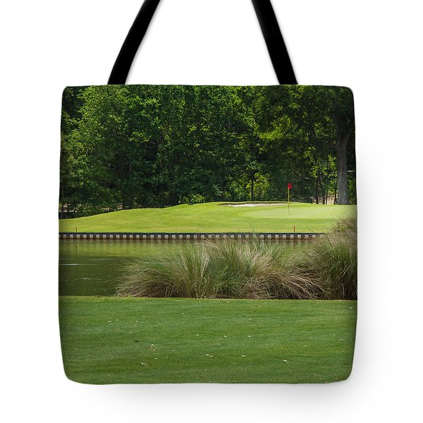 Island Green Tote Bag
