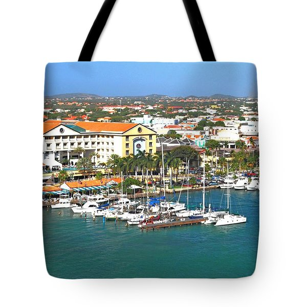 Island Harbor Tote Bag