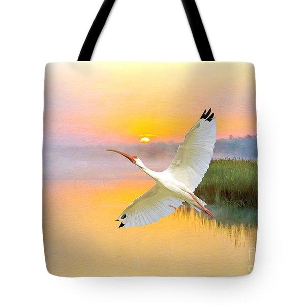 Island Ibis Tote Bag