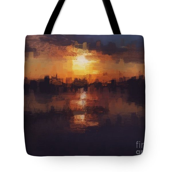 Island In The City Tote Bag