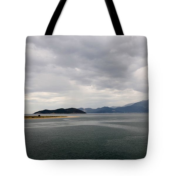 Island In The Mist Tote Bag