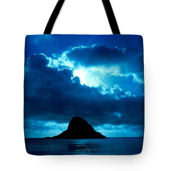 Island In The Sea, Chinamans Hat Tote Bag
