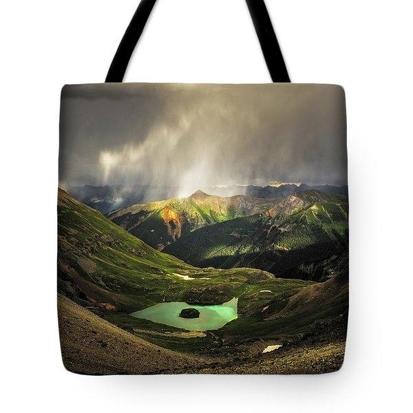 Island Lake Tote Bag