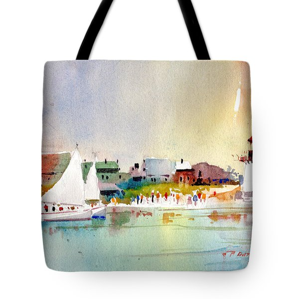 Island Light Tote Bag
