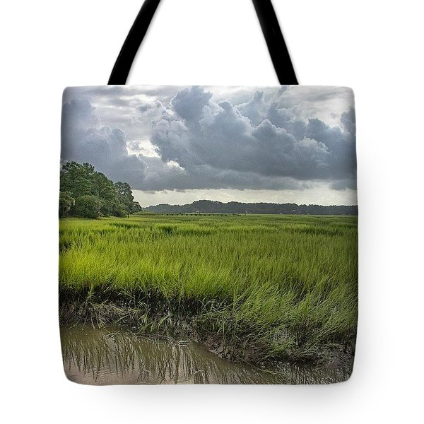 Tote Bag featuring the photograph Island by Margaret Palmer
