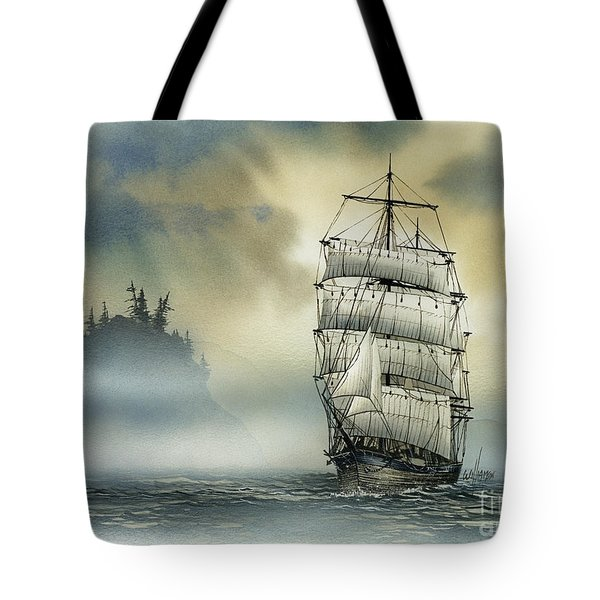 Island Mist Tote Bag by James Williamson