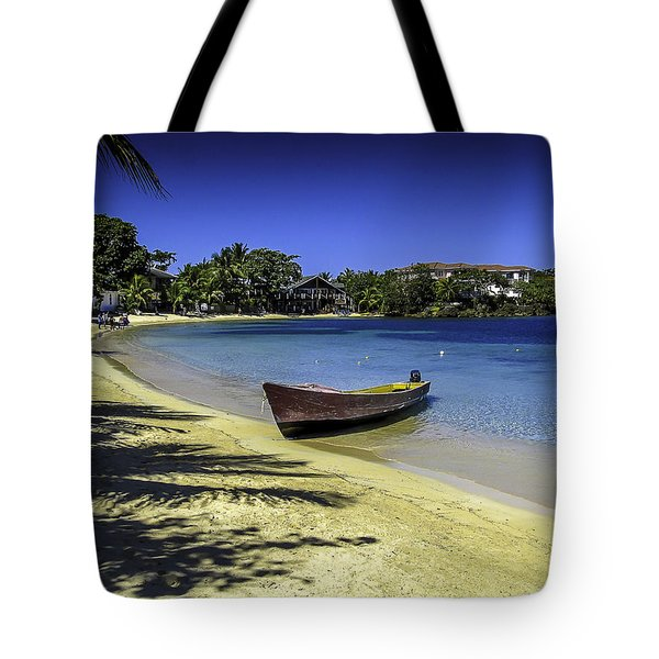 Island Of Roatan Beach Tote Bag
