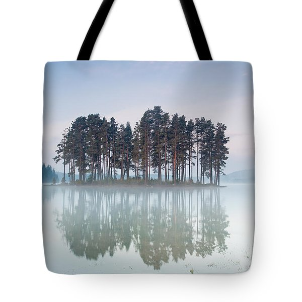Island Of The Day Before Tote Bag by Evgeni Dinev