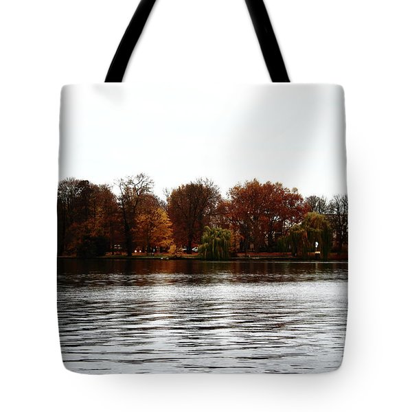 Island Of Trees Tote Bag by Ana Mireles