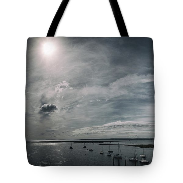 Island Panorama Tote Bag