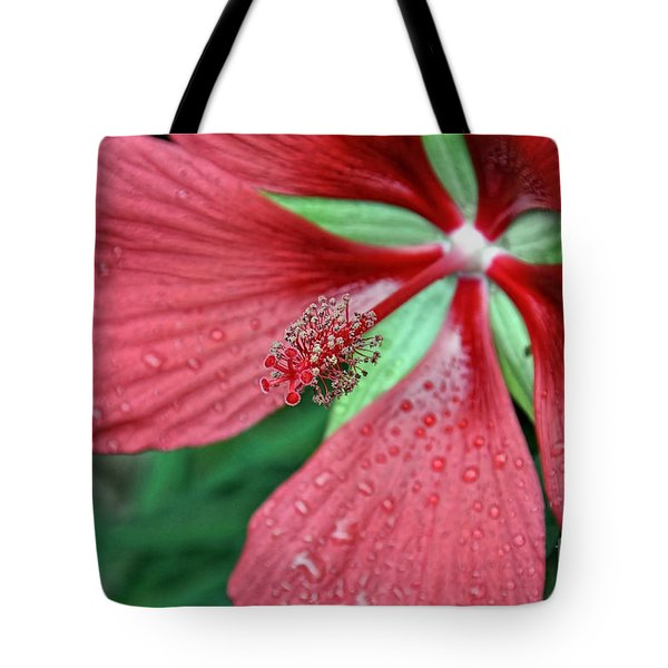 Tote Bag featuring the photograph Island Red by Gina Savage