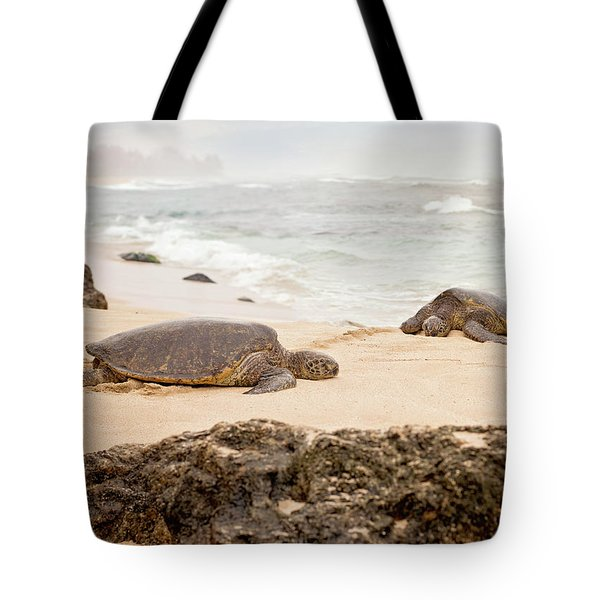 Island Rest Tote Bag by Heather Applegate