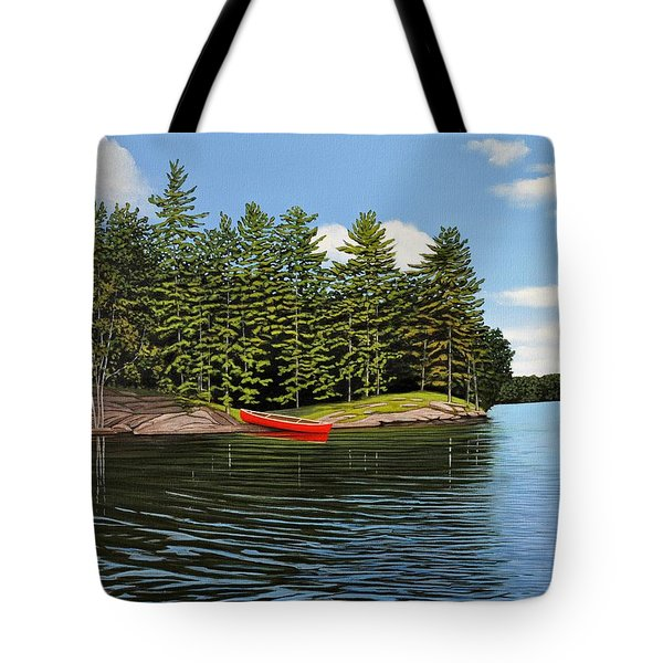 Island Retreat Tote Bag