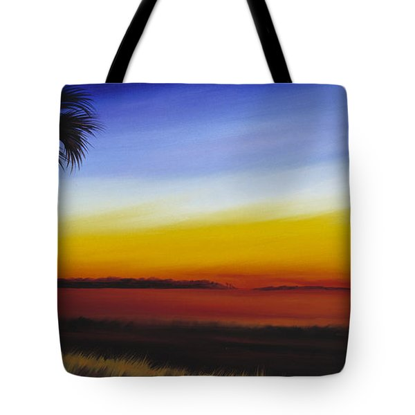 Island River Palmetto Tote Bag by James Christopher Hill