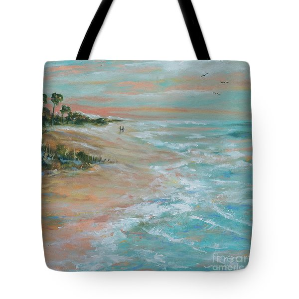 Island Romance Tote Bag