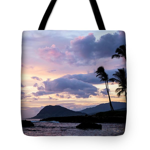 Island Silhouettes  Tote Bag by Heather Applegate