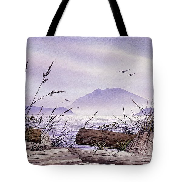 Island Splendor Tote Bag by James Williamson