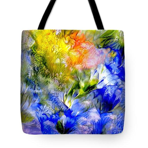 Island Spring Tote Bag