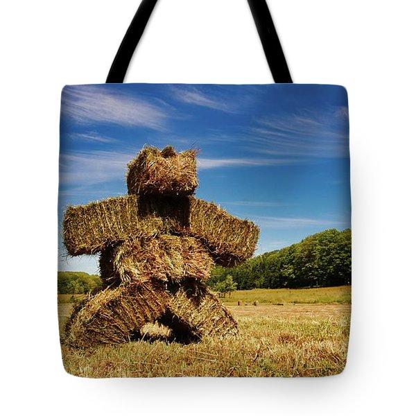 Island Strawman Tote Bag