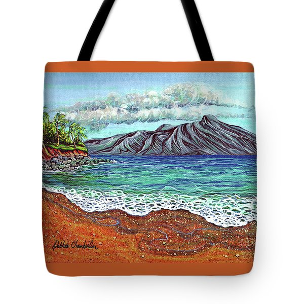 Island Time Tote Bag by Debbie Chamberlin
