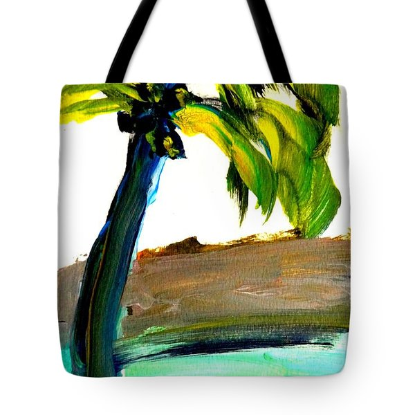 Island Time Signed Print Tote Bag