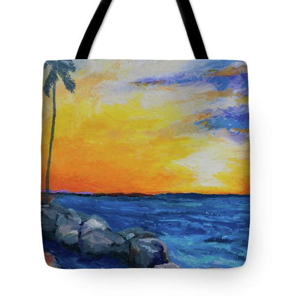 Island Time Tote Bag by Stephen Anderson