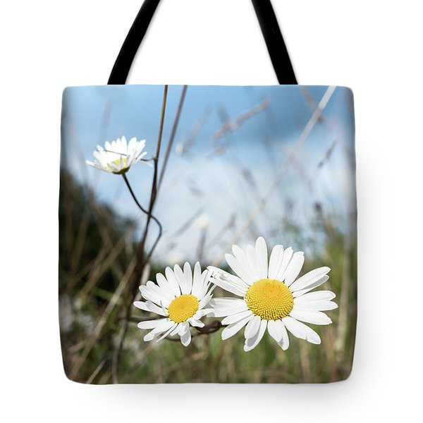 Island Wildflowers Tote Bag