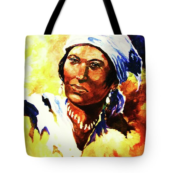 Island Woman II Tote Bag