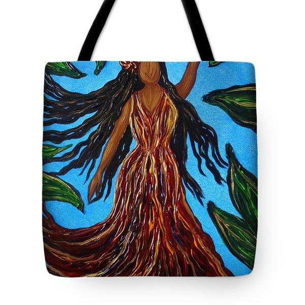 Island Woman Tote Bag