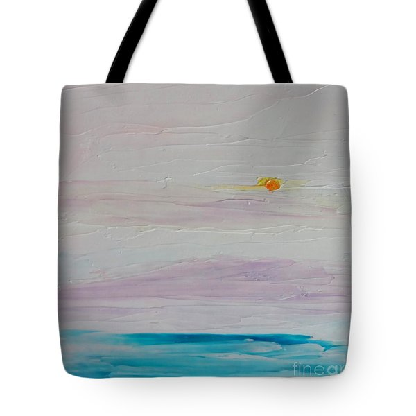 Islands In Summer Tote Bag