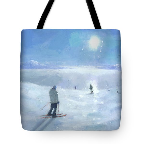 Islands In The Cloud Tote Bag