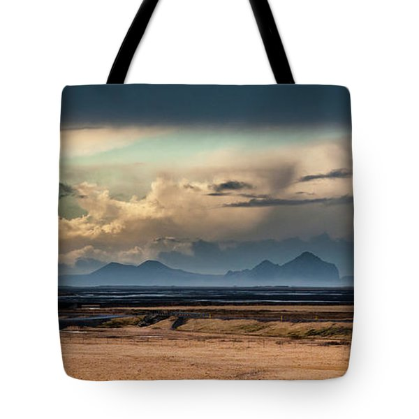 Islands In The Sky Tote Bag