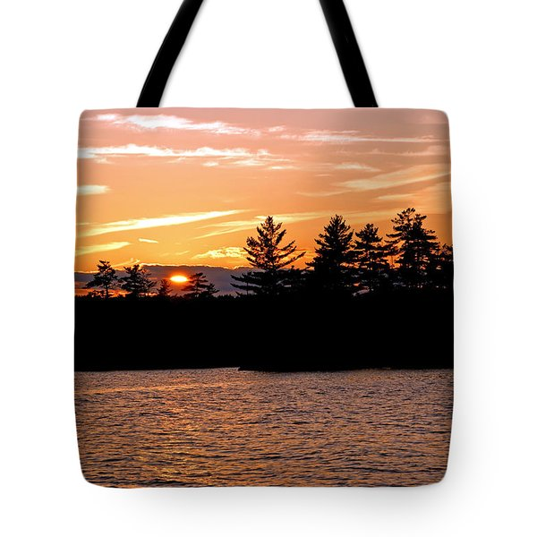 Tote Bag featuring the photograph Islands Of Tranquility by Lynda Lehmann