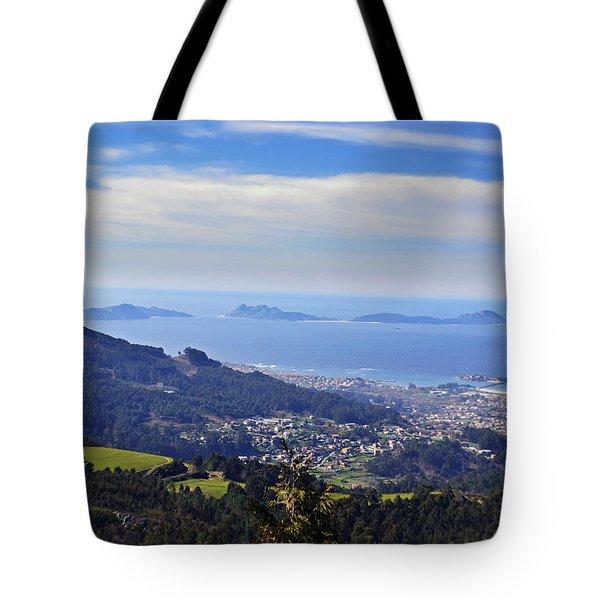 Islas Cies Tote Bag